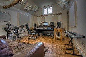 Crooks Hall Studio GIK Versifusor Bass Traps