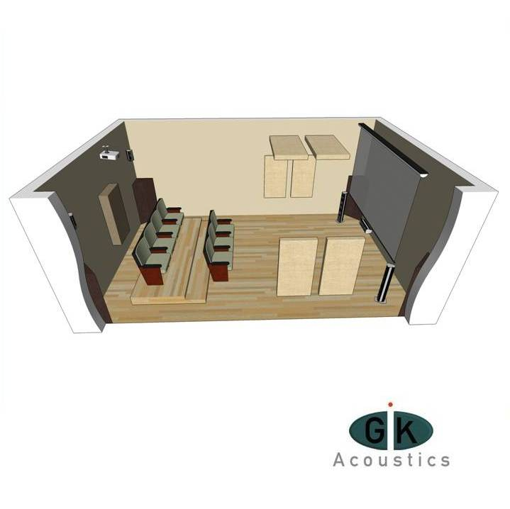 GIK Acoustics Room Kit 4 sq