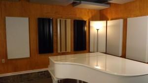 ZenPro Audio studio with Q7D Diffusors