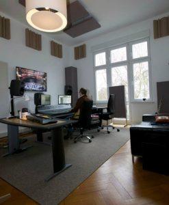 GIK bass traps, acoustic panels