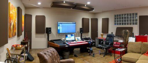 GIK Acoustics 244 Bass Trap Monster Bass Trap Tri-Trap Corner Bass Trap home studio