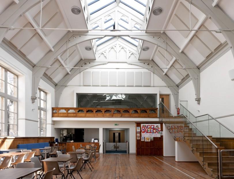 Christchurch Ilkley Riddings Hall GIK 242 Acoustic Panel