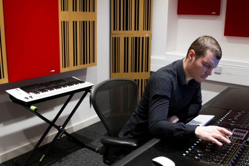 Abbey Road Ins S6 Studio GIK Acoustics Alpha Series Acoustic Panels