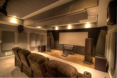 Home Theatre Acoustic Panels and Bass Traps GIK Acoustics