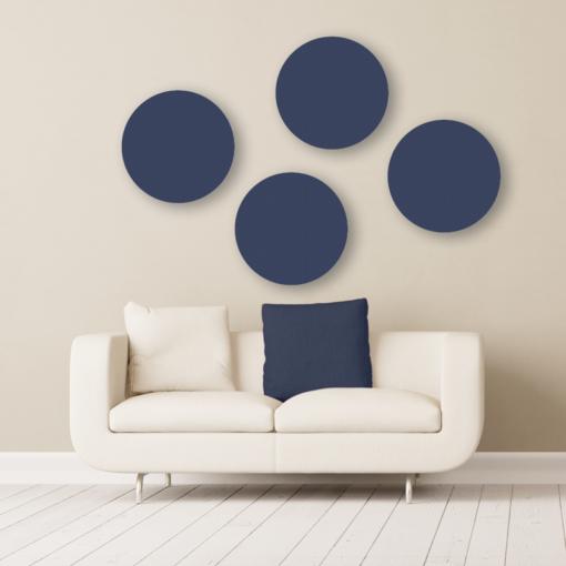 GIK Acoustics circle acoustic panels walten color