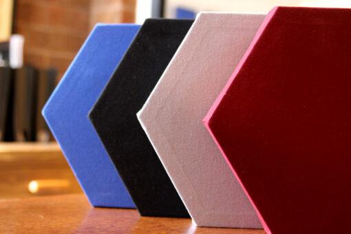 GIK ACoustics hexagon acoustic panel color options