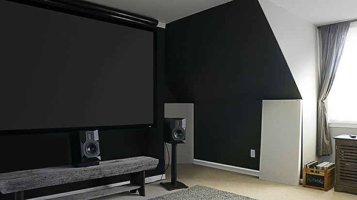 Home Theatre Home Cinema Room Acoustics with GIK Acoustics treatments