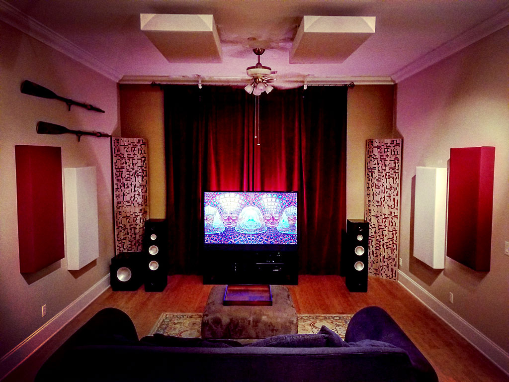 GIK Acoustics in Home Theatre room acoustics setup and design ideas