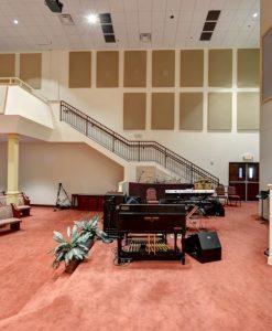 Church Acoustics and house of worship using GIK Acoustics panels on walls