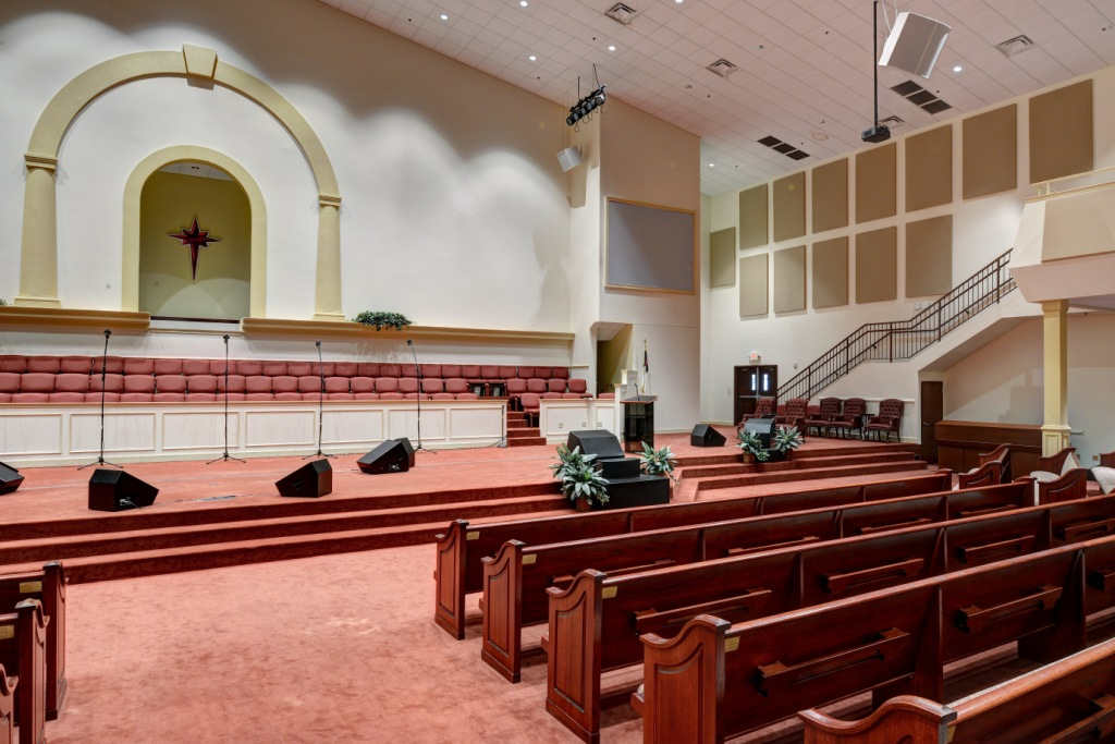 Church Acoustics and house of worship using GIK Acoustics panels on walls